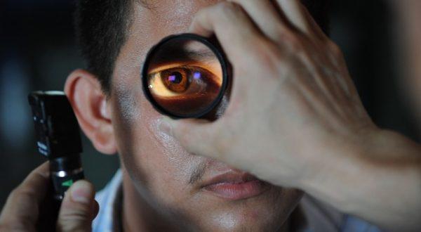 Optometryczne badanie wzorku